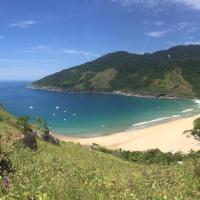Praia do Bonete, navegando  pela costa sul.