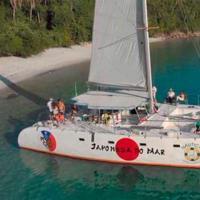 Passeio de Catamarã Com Comida Japonesa a Bordo