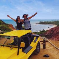 Litoral Sul da Paraíba com Buggy