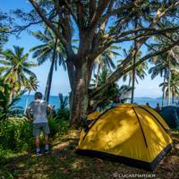 Camping & Canoa Numa Ilha em Juquehy