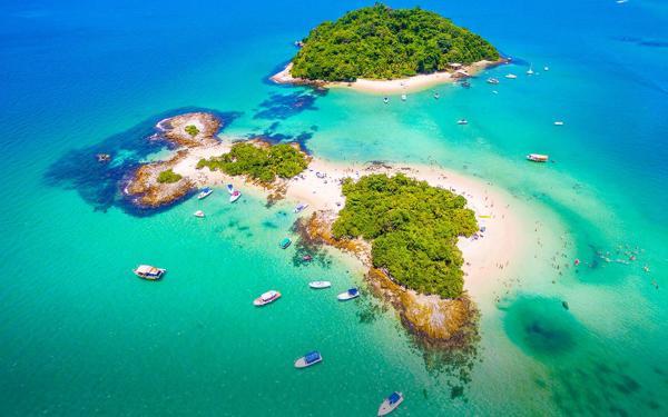 Angra dos Reis e Ilha Grande: barco e almoço